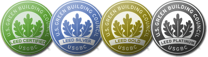 LEED Certification Levels by the U.S. Green Building Council